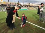 Inaugurazione nuovo manto erboso stadio Riva Albenga