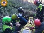 Incidente Madonna della Guardia soccorsi