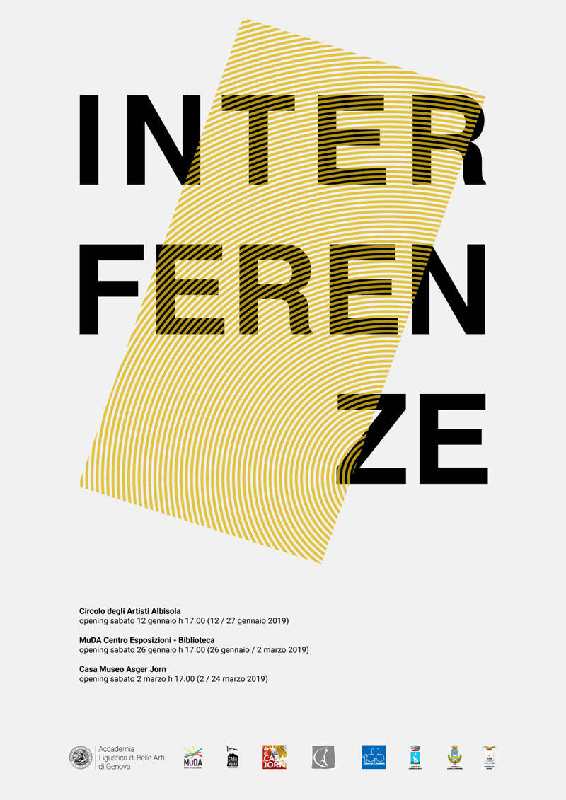 """""""Interferenze"""" mostra Accademia Ligustica Belle Arti Albissola Marina"""