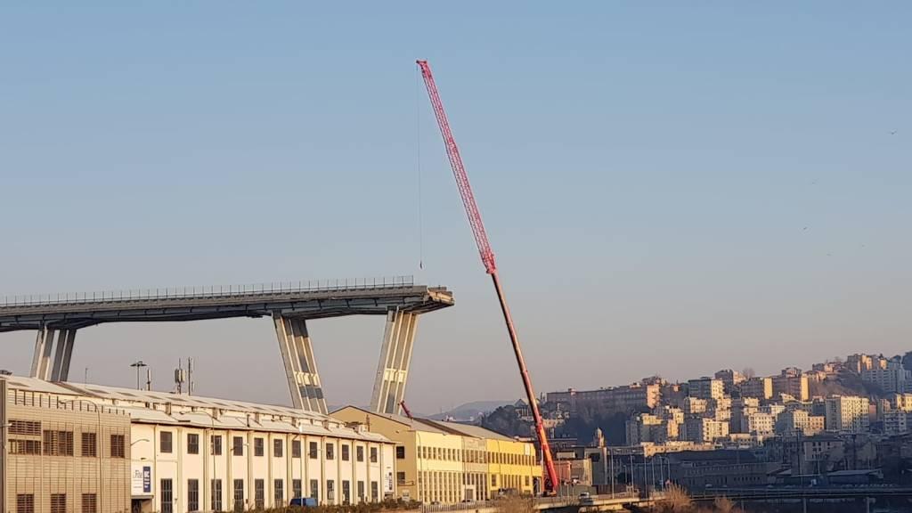 lavori ponte morandi