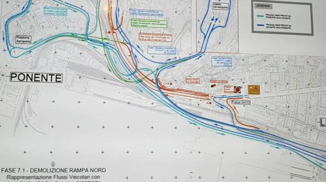 Mappa demolizione rampa via siffredi