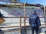 Municipale scritte nazismo albenga