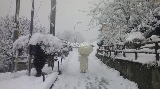 neve a torriglia