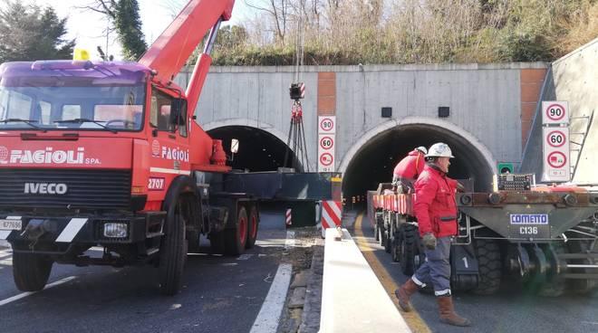 Prove di carico ponte Morandi