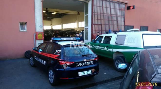Ricettazione di metalli, controlli di carabinieri e forestale