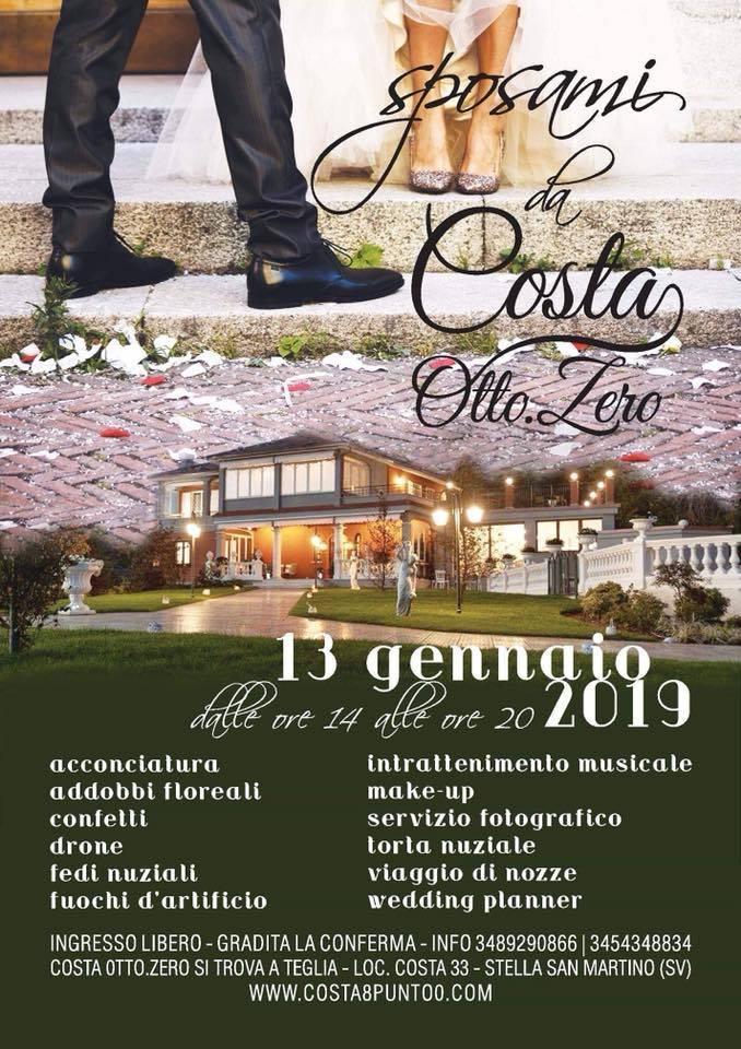 Sposami da Costa Otto.Zero 2019 Stella San Martino