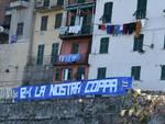striscione tifosi sampdoria per coppa italia