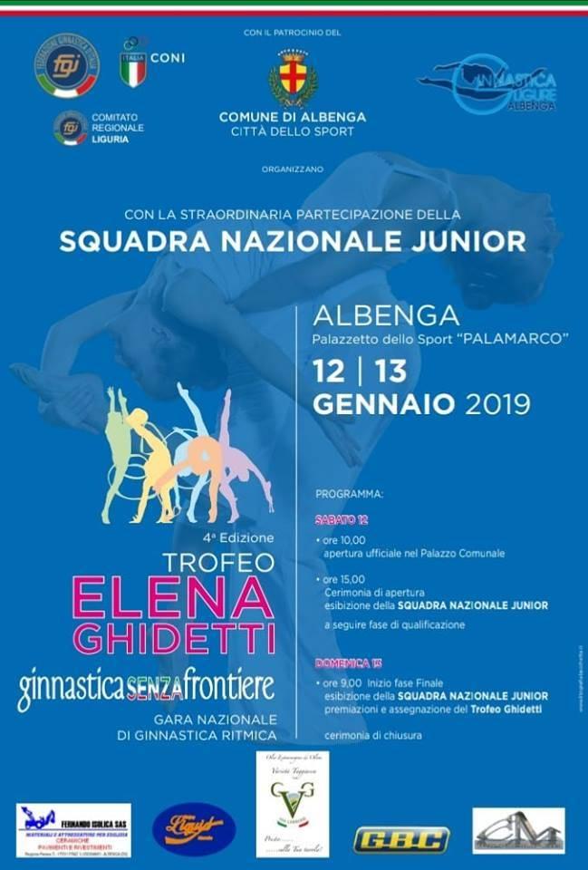 Trofeo Elena Ghidetti Albenga 2019