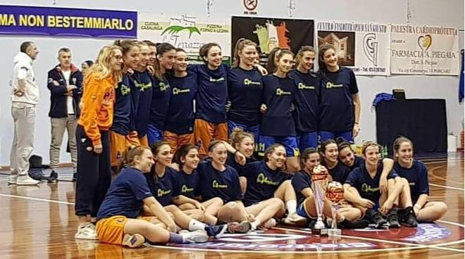 Under 18 del Basket Pegli