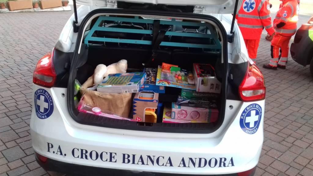 Avis Croce Bianca Andora Gaslini
