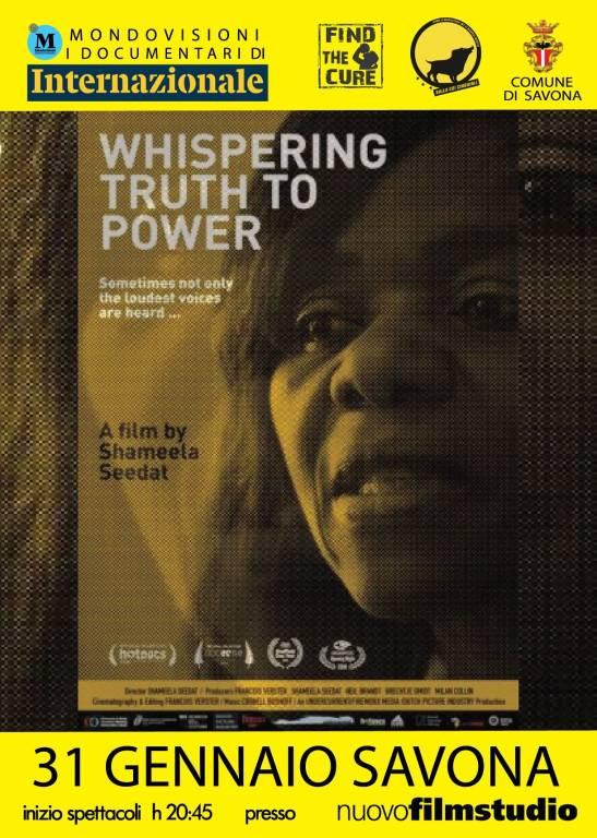 """Whispering truth to power"" docufilm Nuovofilmstudio"