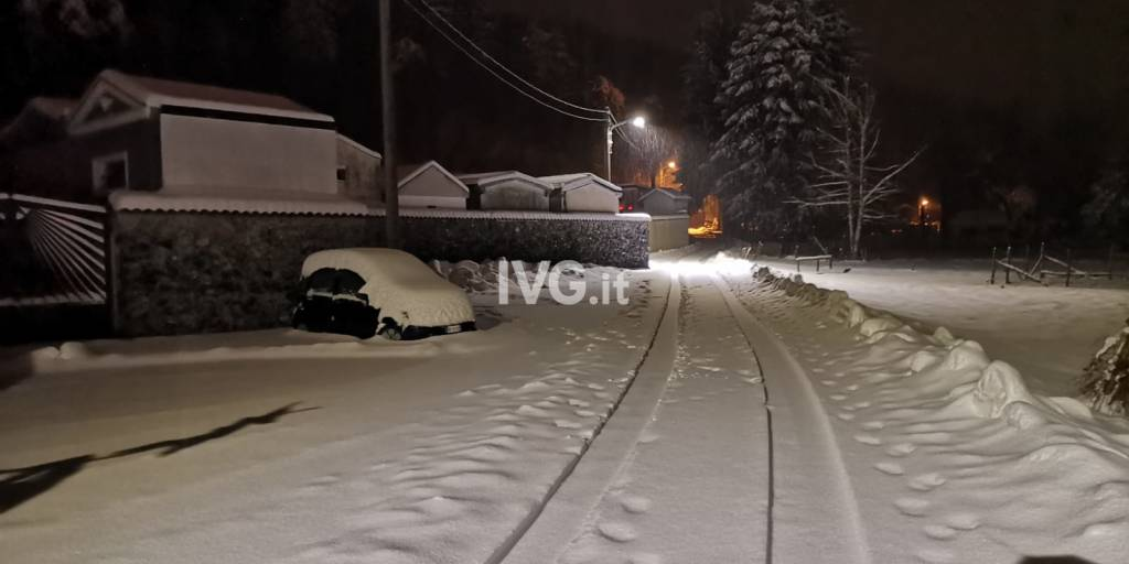 Allerta neve arancione 1 febbraio 2019