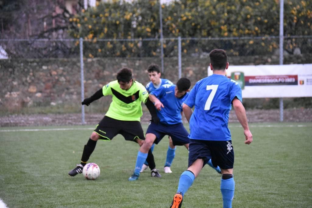 Calcio, Juniores: Dianese e Golfo contro Pietra Ligure