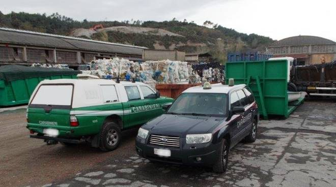 carabinieri forestali rifiuti