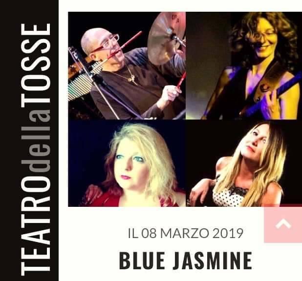 Le Blue Jasmine in scena alla Claque