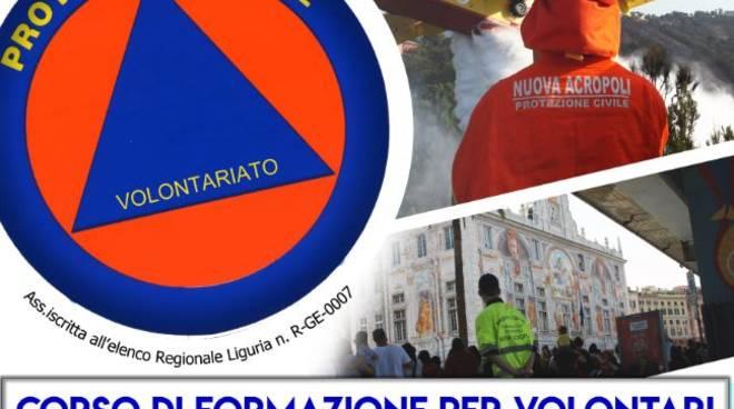 Corso di formazione per volontari della protezione civile