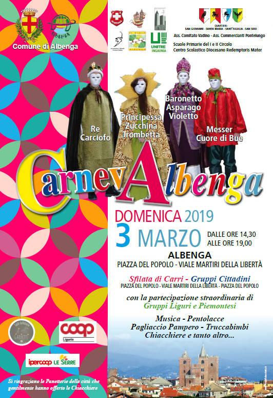 Carnevale Albenga 2019