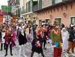 Carnevaloa, la sfilata del palio dei Borghi