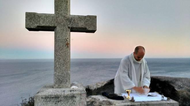 Don Manuel Belli sacerdote Bergamo