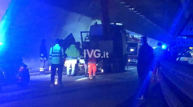 Incidente in A10 tra Varazze e Celle ligure