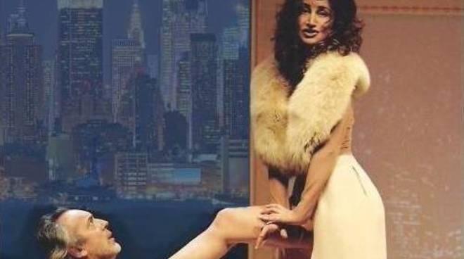 """""""È l'uomo per me"""" spettacolo teatrale Mario Zucca e Marina Thovez"""