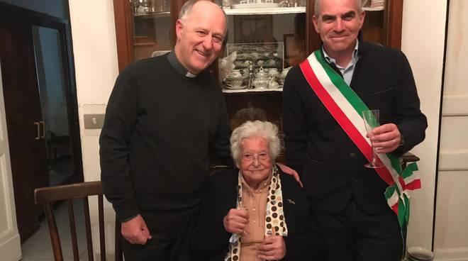 Maria Boragno 107 anni Albenga