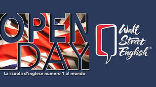 Open Day Wall Street English ad Albenga e Savona