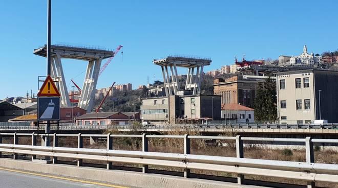 Ponte Morandi 25 febbraio
