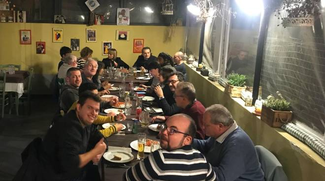 Protezione civile cena Alassio