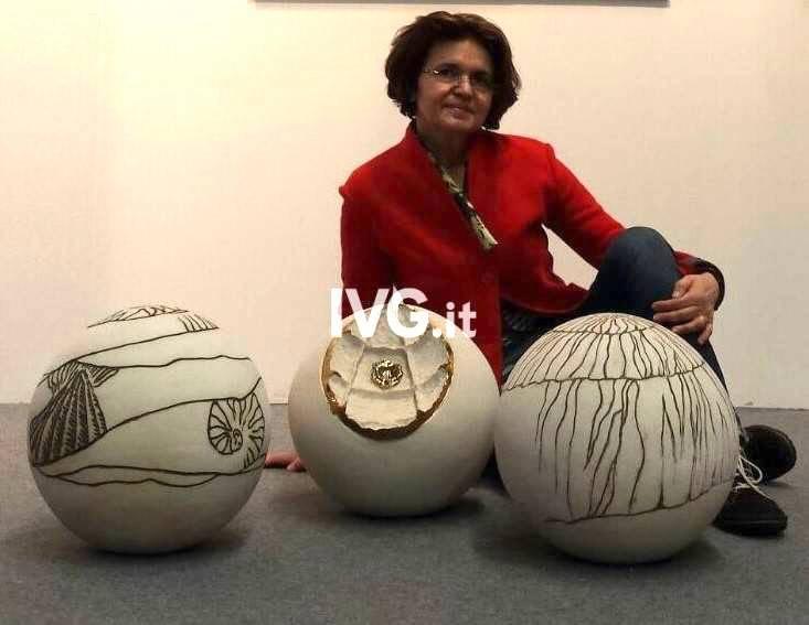 Rosanna La Spesa mostra d'arte Carcare