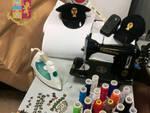 sartoria, laboratorio clandestino, contraffazione