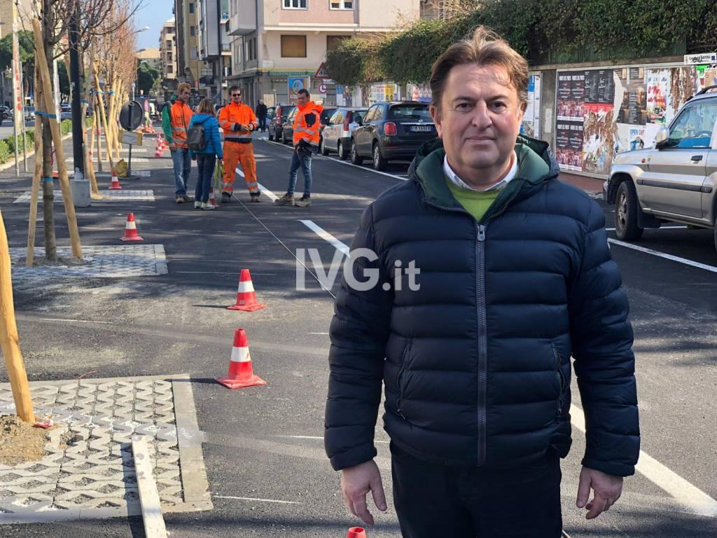 Savona, i lavori per sistemare i parcheggi