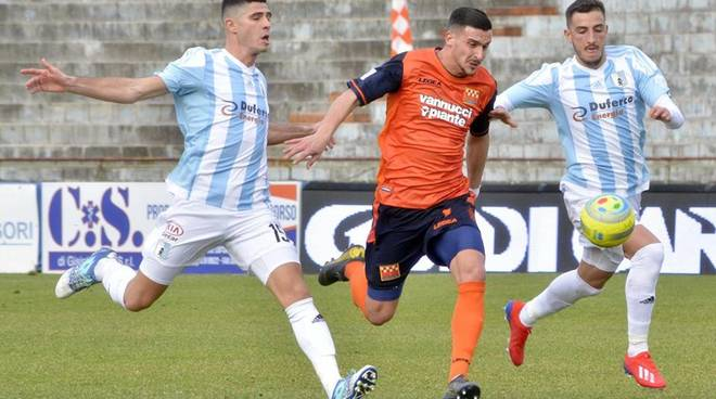 Serie C: Pistoiese vs Virtus Entella