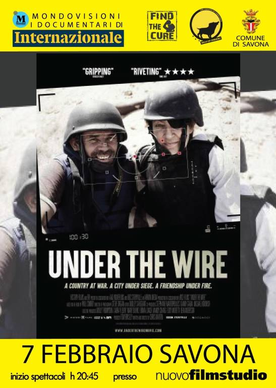 """""""Under the wire"""" docufilm giornalismo"""