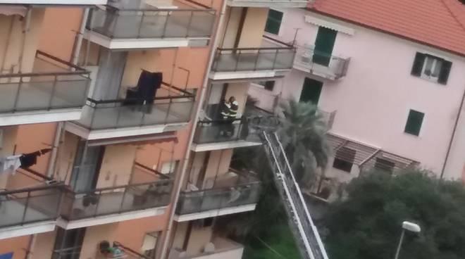 Anziana Caduta via Bruzzone Savona