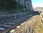 Guasto Ferrovia Andora Alassio Binari Ferrovia Binario