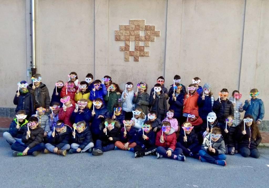 Carnevale Savona Bambini elementari Mameli 3A 3B