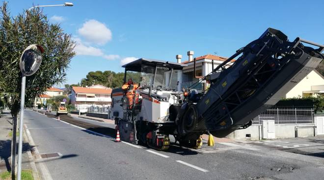 Via San Lorenzo Andora