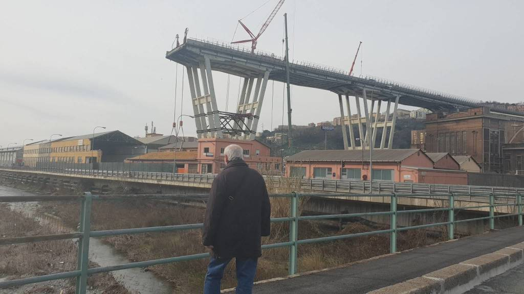 Zone cantiere ponte