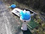 abbandono rifiuti calice