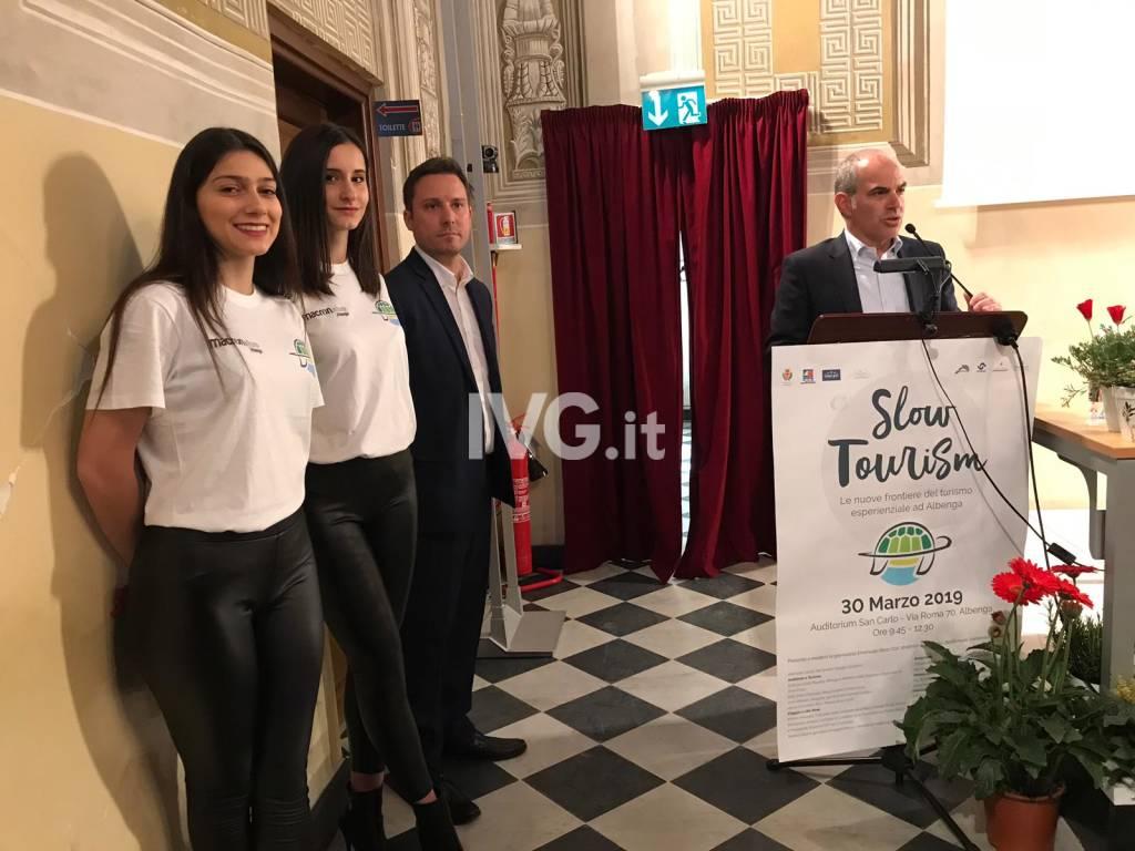 Albenga, presentazione convegno Slow Tourism