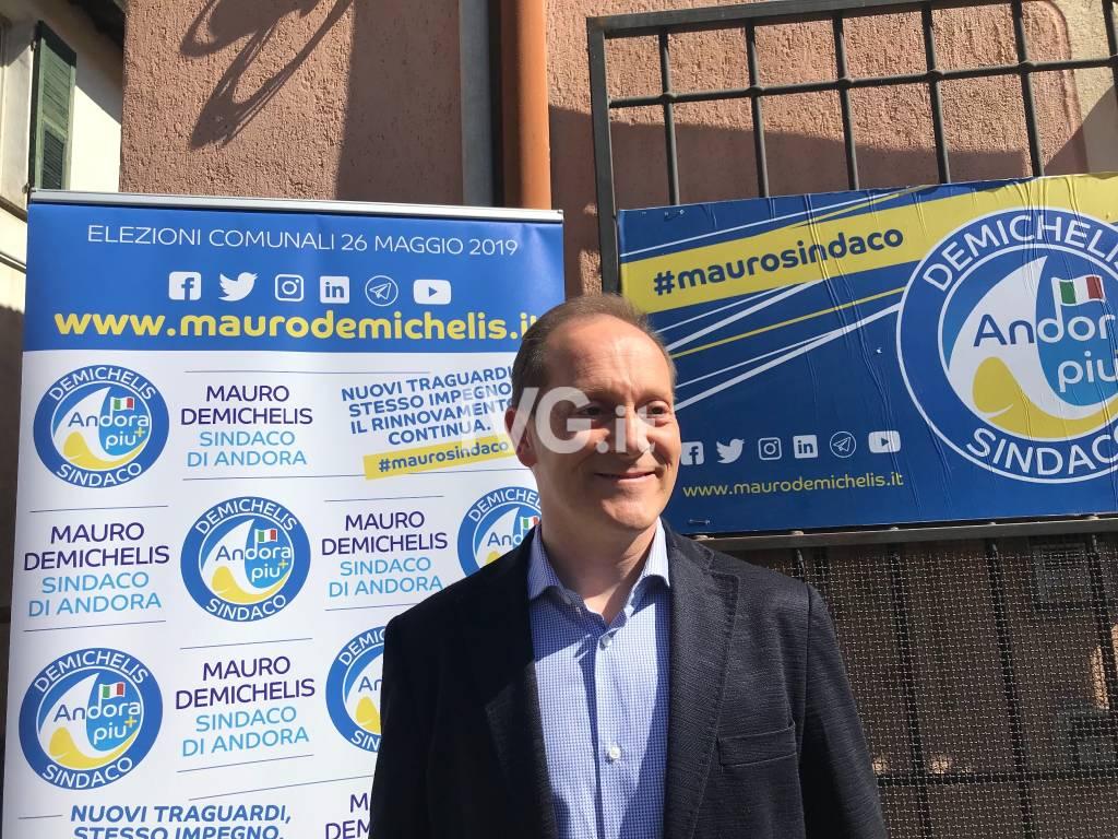 Andora, Mauro Demichelis tenta il bis