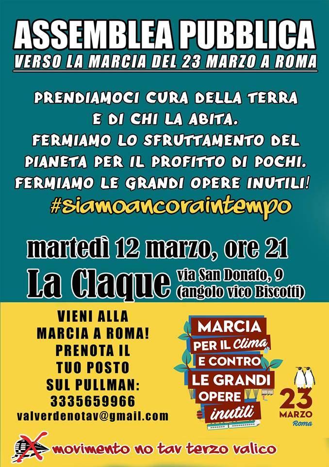 assemblea pubblica no tav 12 marzo