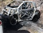 auto incendio fuoco luvari