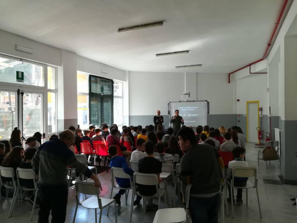 Carabinieri Andora scuole