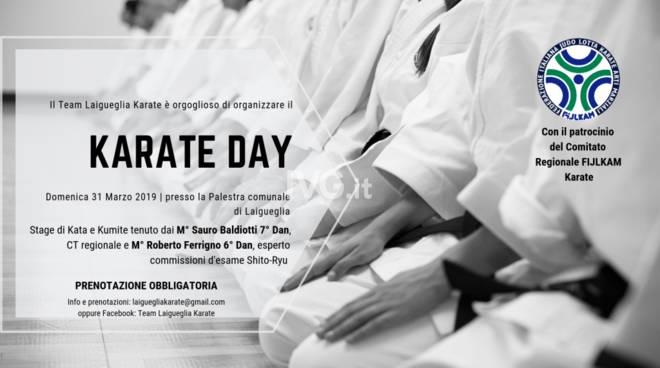 Karate Day: in arrivo uno stage stellare