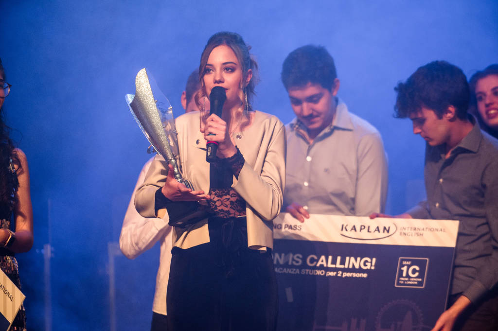 Vince la seconda edizione di Genoa Vision Talent Night la giovane cantautrice del Liceo D\'Oria Gaia Tenti