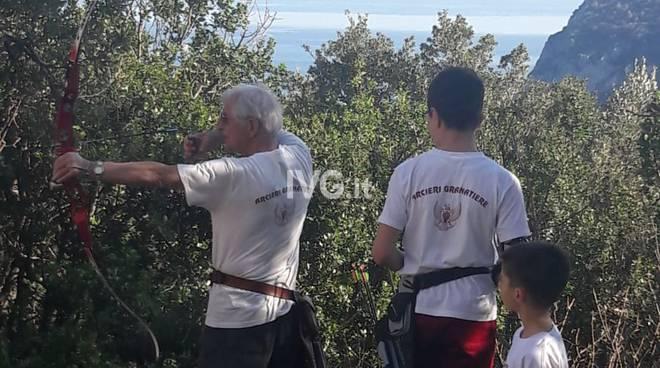 """Primo Torneo Arcieristico  \""""Castello di Noli\"""""""