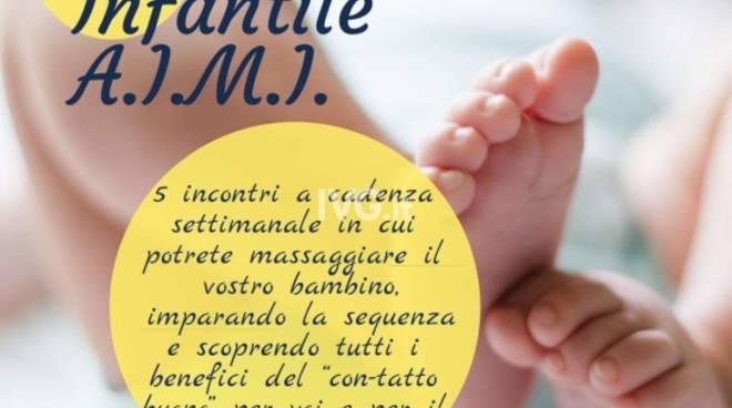 Corso di Massaggio Infantile A.I.M.I. 0-12 mesi