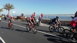 Ciclismo, Milano-Sanremo: il passaggio a Pietra Ligure
